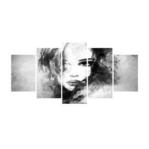 Vícedílný obraz Black&White no. 114, 100x50 cm