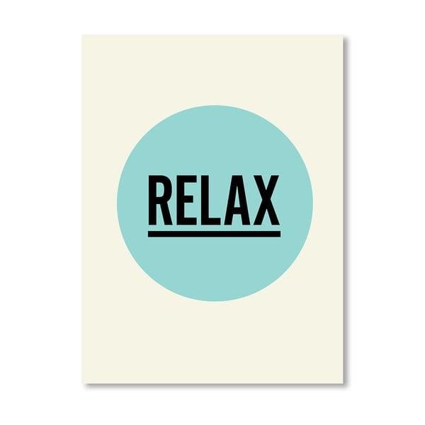 Plakát Relax, 42x60 cm
