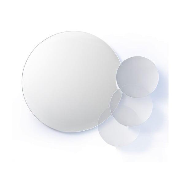 Nástěnné dvojité zrcadlo Wireworks Mezza Dark