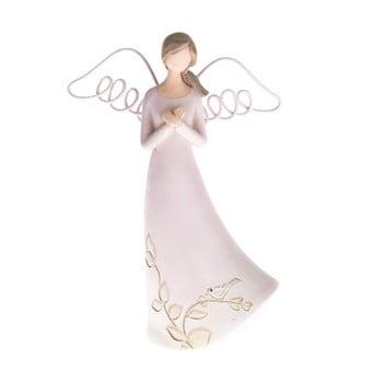 Decorațiune în formă de înger Dakls, înălțime 13 cm