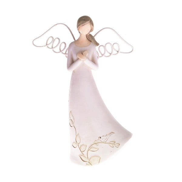 Betónová dekorácia v tvare modliaceho sa anjela Dakls, výška 13 cm