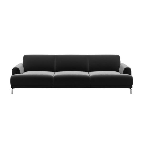 Canapea cu 3 locuri MESONICA Puzzo, gri