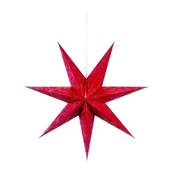 Svítící hvězda Aratorp Red, 75 cm