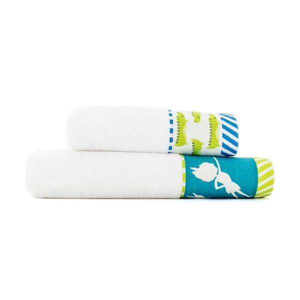 Sada 2 ručníků Mr. Fox Peter, 50x100 cm a 70x140 cm