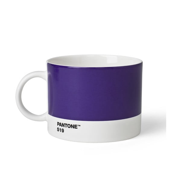 Fialový hrnek na čaj Pantone 519, 475 ml