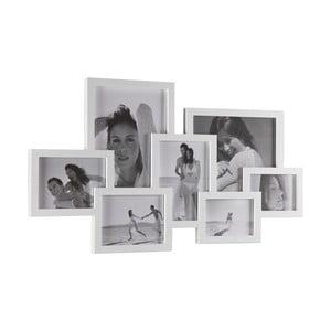Bílý nástěnný fotorámeček Tomasucci Collage