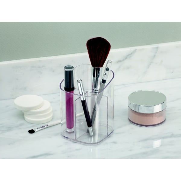 Organizér na kosmetiku InterDesign Clarity, 9x11cm