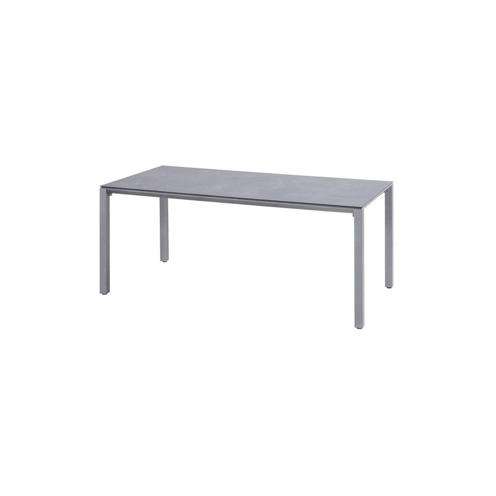 Světle šedý zahradní stůl Hartman Victorio, 180 x 90 cm