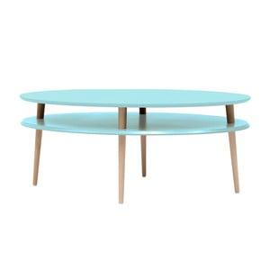 Světle tyrkysový konferenční stolek  Ragaba OVO