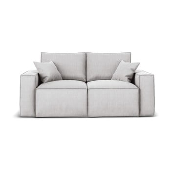 Canapea cu 2 locuri Cosmopolitan Design Miami, gri deschis de la Cosmopolitan Design