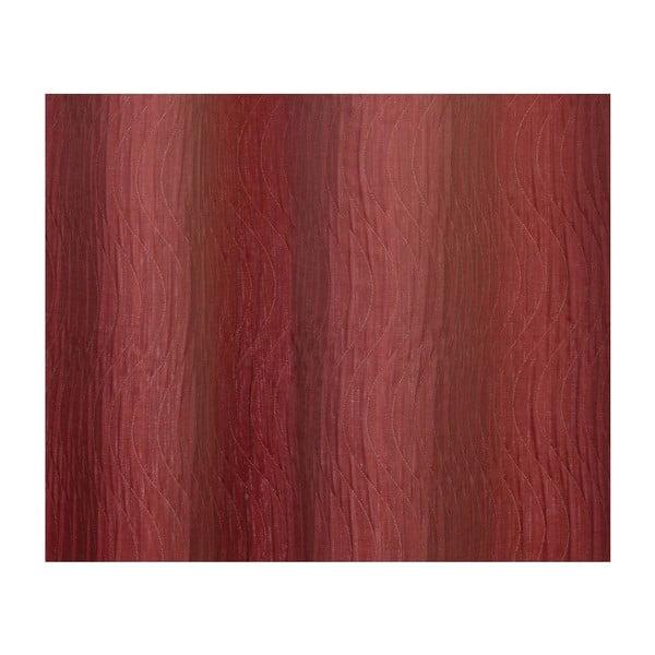 Závěs Elegance Red, 130x245 cm