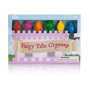Sada 6 voskovek ve tvaru pohádkových postav npw™ Fairy Tale