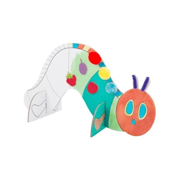 Detský tvorivý set na výrobu kartónovej húsenice Legler Caterpillar
