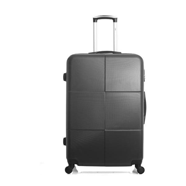 Tmavě šedý cestovní kufr ve na kolečkách Hero Coronado, 91 l