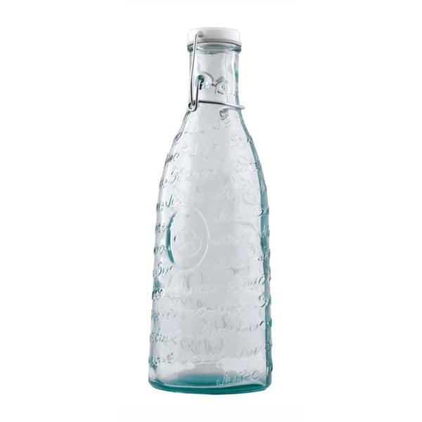 Lahev z recyklovaného skla na šťávu Ego Dekor Mediterraneo, 1000 ml