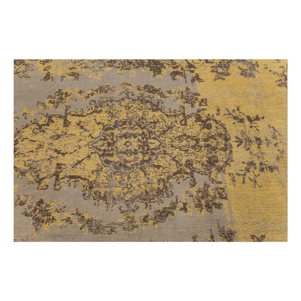 Koberec Kare Design Kelim Pop Yellow, 300 x 200 cm