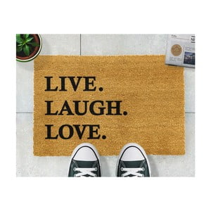 Rohožka Artsy Doormats Live Laugh Love, 40 x 60 cm