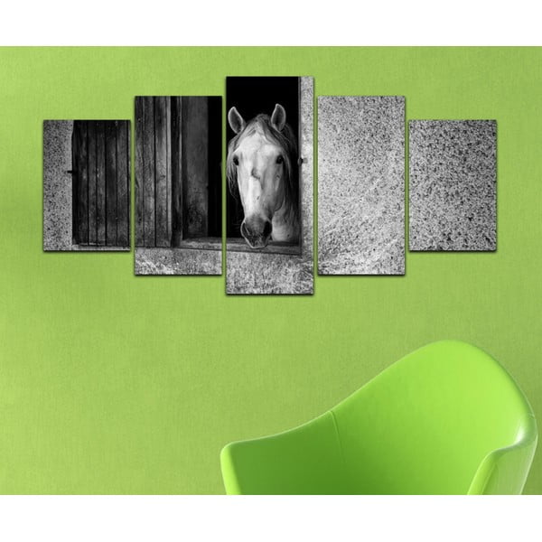 Vícedílný obraz Black&White no. 19, 100x50 cm