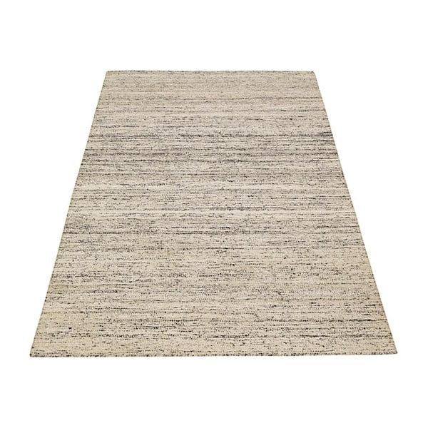 Ručně tkaný koberec Bakero Kilim Sari Silk Ivory, 140x200 cm