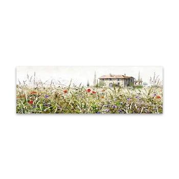 Tablou imprimat pe pânză Styler Grasses, 140 x 45 cm poza