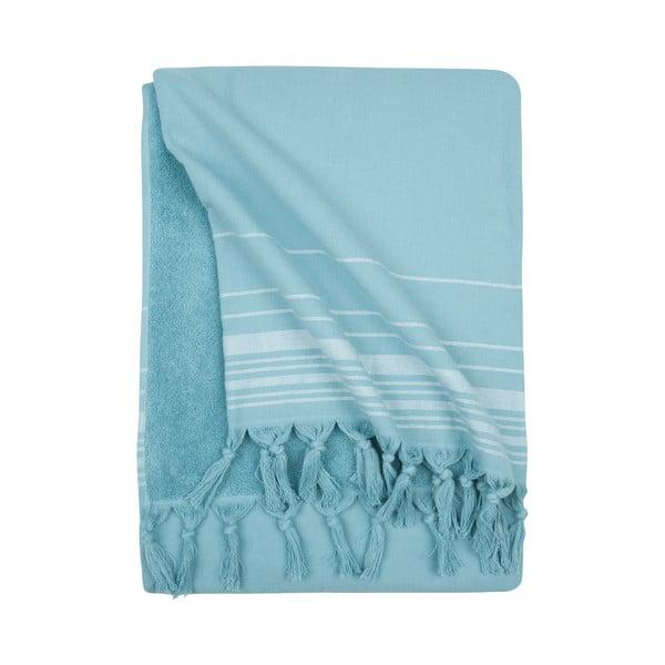 Prosop hammam Walra, albastru