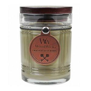Lumânare parfumată WoodWick Vanilie, 226 g, 60 ore