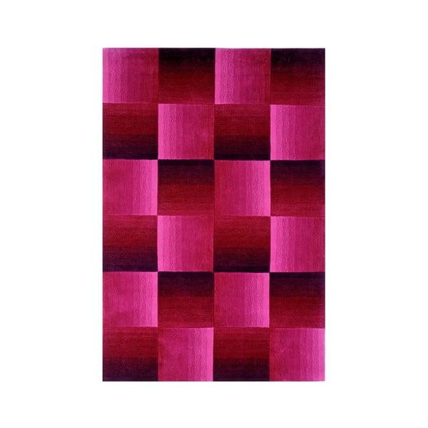 Ručně tkaný koberec Calypso, 200x300 cm, fialový