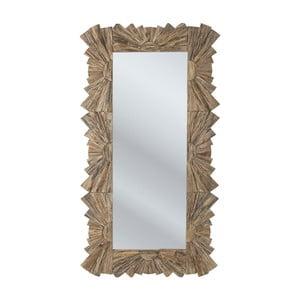 Zrcadlo s rámem ze smrkového dřeva Kare Design Waikiki