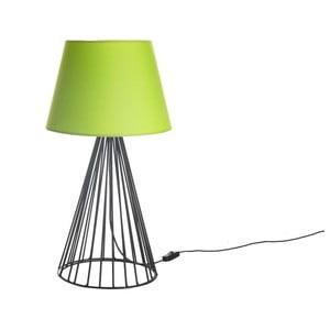Stolní lampa Wiry Lime/Black