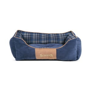 Psí pelíšek Highland Box Bed S 50x40 cm, modrý