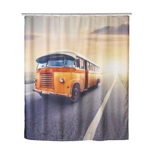 Retro sprchový závěs Bus