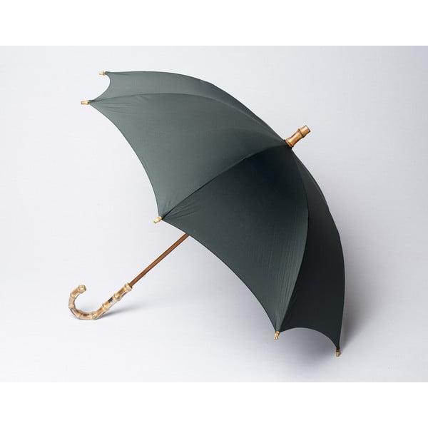 Bambusový deštník Gents, šedý