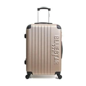 Béžový cestovní kufr na kolečkách Blue Star Bucarest, 93l