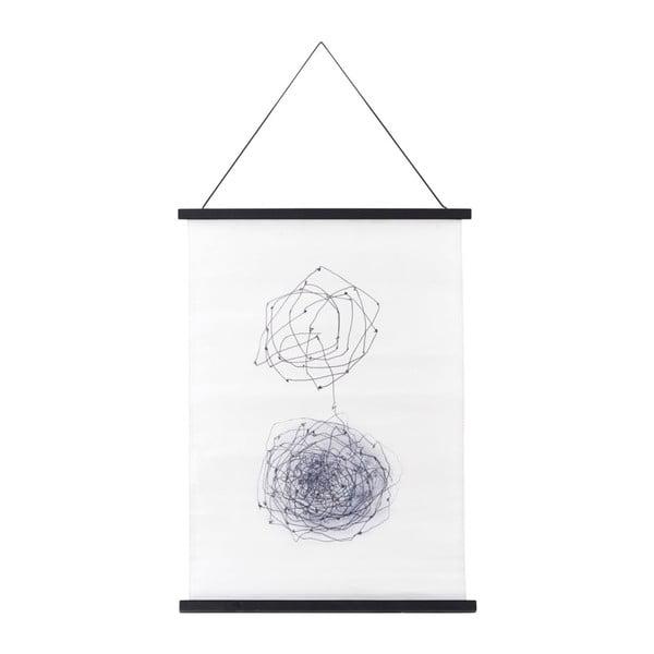 Plagát s rámom House Doctor Knot, 50 x 70 cm