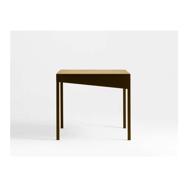 Konferenční kovový stůl ve zlaté barvě Custom Form Obroos, 50 x 50 cm