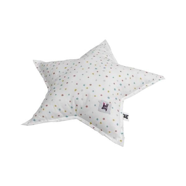 Bawełniana poduszka dziecięca w kształcie gwiazdki BELLAMY In the woods