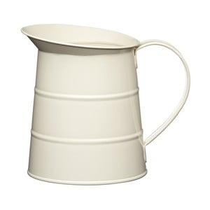 Krémový džbán na vodu Kitchen Craft Living Nostalgia, 1,1 l