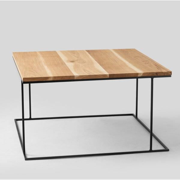 Konferenční stolek s deskou v dekoru dubového dřeva Custom Form Walt, délka80cm