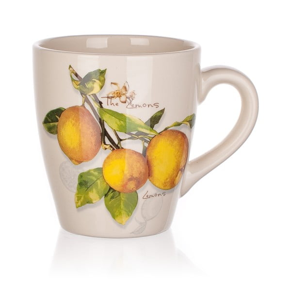 Keramický hrnek Banquet Lemon, 500ml