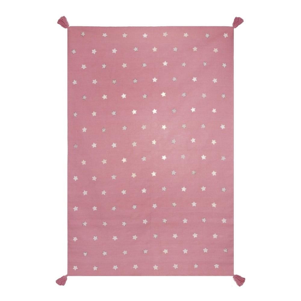 Růžový koberec Art For Kids Voyage, 140 x 200 cm