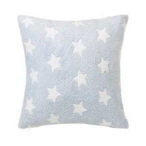 Světle modrý polštář s motivem hvězdiček Unimasa Star,45x45cm