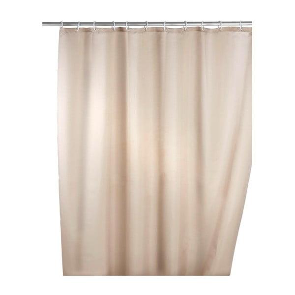 Bézs penészálló zuhanyfüggöny, 180 x 200 cm - Wenko