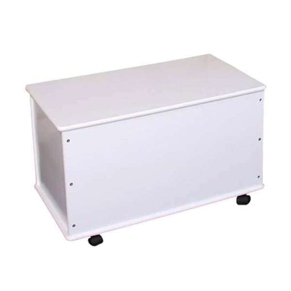 Lavice s úložným prostorem Shabby 73 cm, bílá