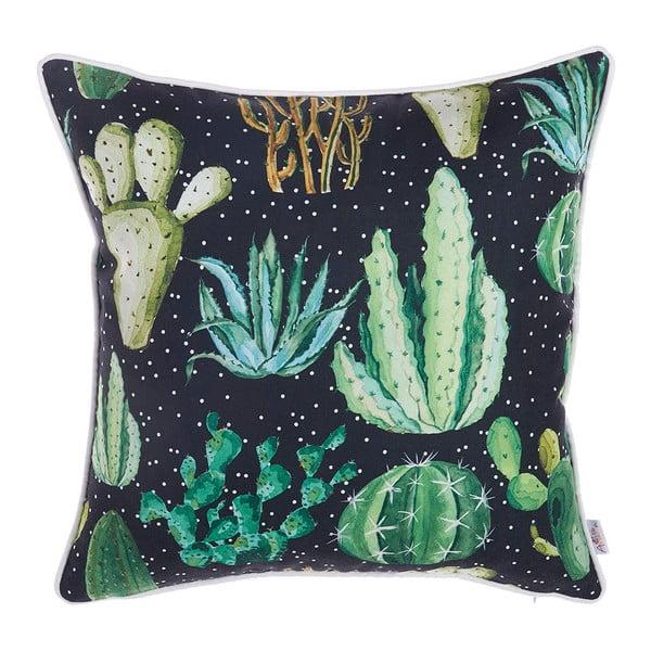 Faţă de pernă Apolena Dark Cactus, 43 x 43 cm