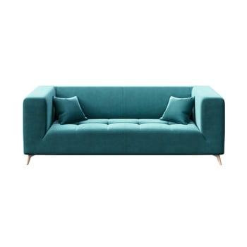 Canapea cu 3 locuri MESONICA Toro, albastru închis imagine