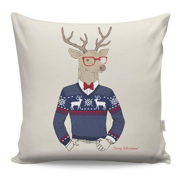 Mr. Deer párna, 43 x 43 cm