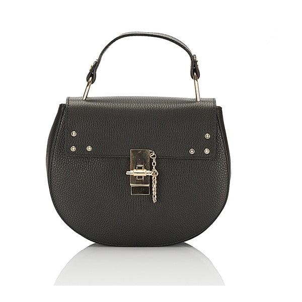 Kožená kabelka Giorgio Costa 15011 Black