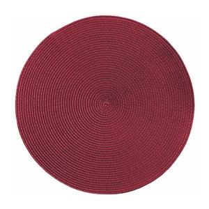 Suport pentru farfurie Tiseco Home Studio Round Chambray, ø38cm, roșu