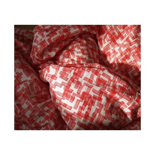 Povlečení Schemer 140x220 cm, červené