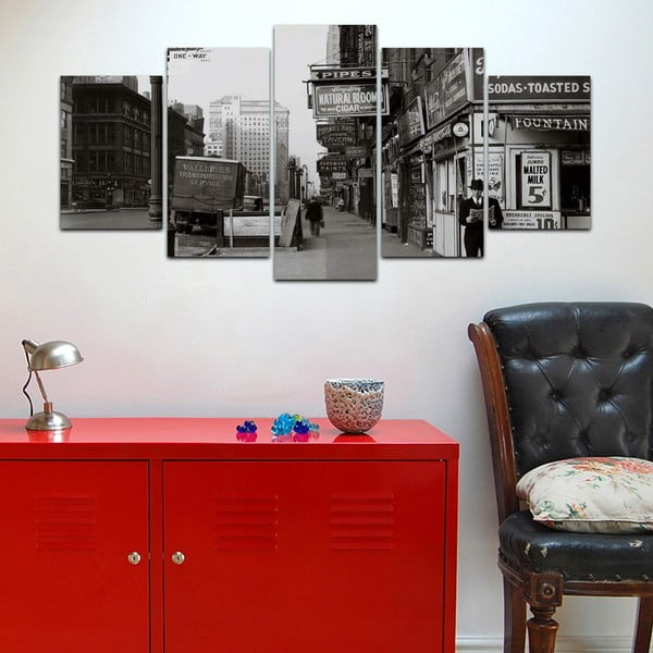 Vícedílný obraz Black&White no. 86, 100x50 cm